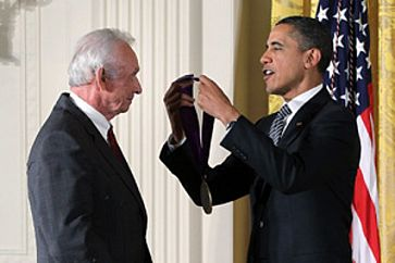 President Obama awards Mel Tillis National Medal of Art
