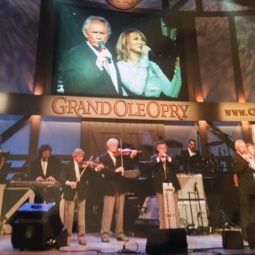 Mel, Pam and Statsiders at the Grand Ole Opry